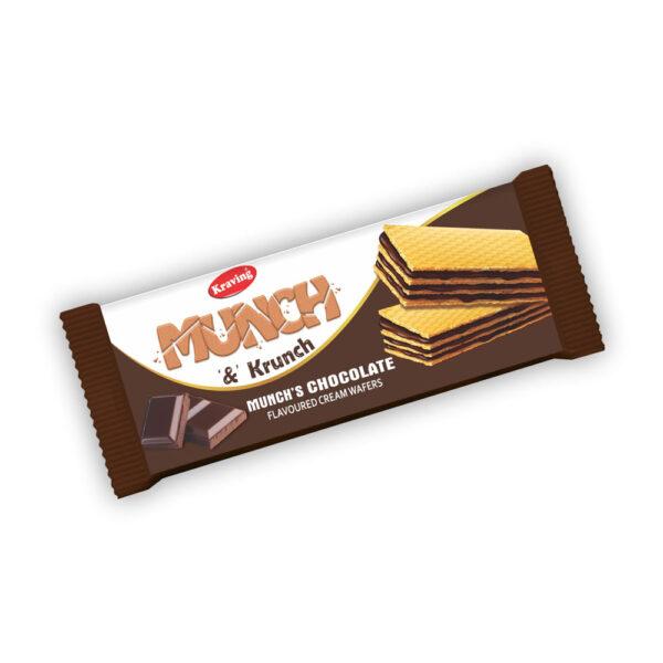 Kraving Munch Krunch Chocolate Wafers