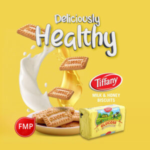 Tiffany Glucose Milk Honey Biscuits